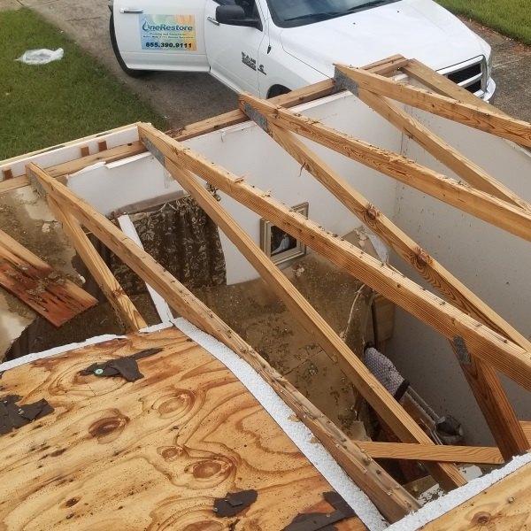 Storm Damage Roof Reconstruction - OneRestore